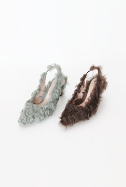 피팅슈즈 SALE bbo fur-heel