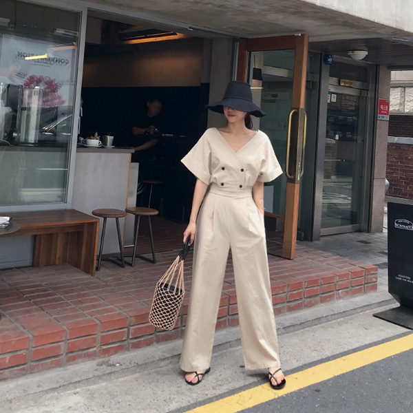 simple double-jumpsuit