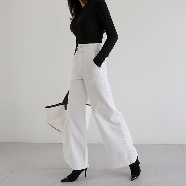 marble high-pants