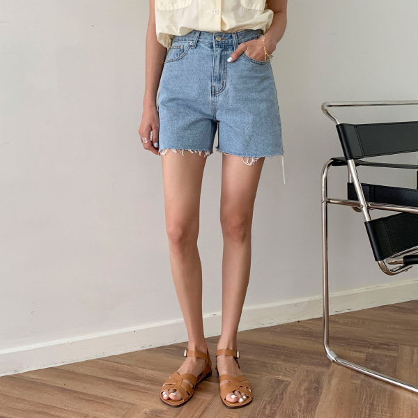 mow denim-shorts